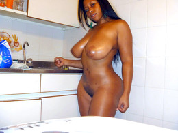 Homemade private pics of cute ebony..